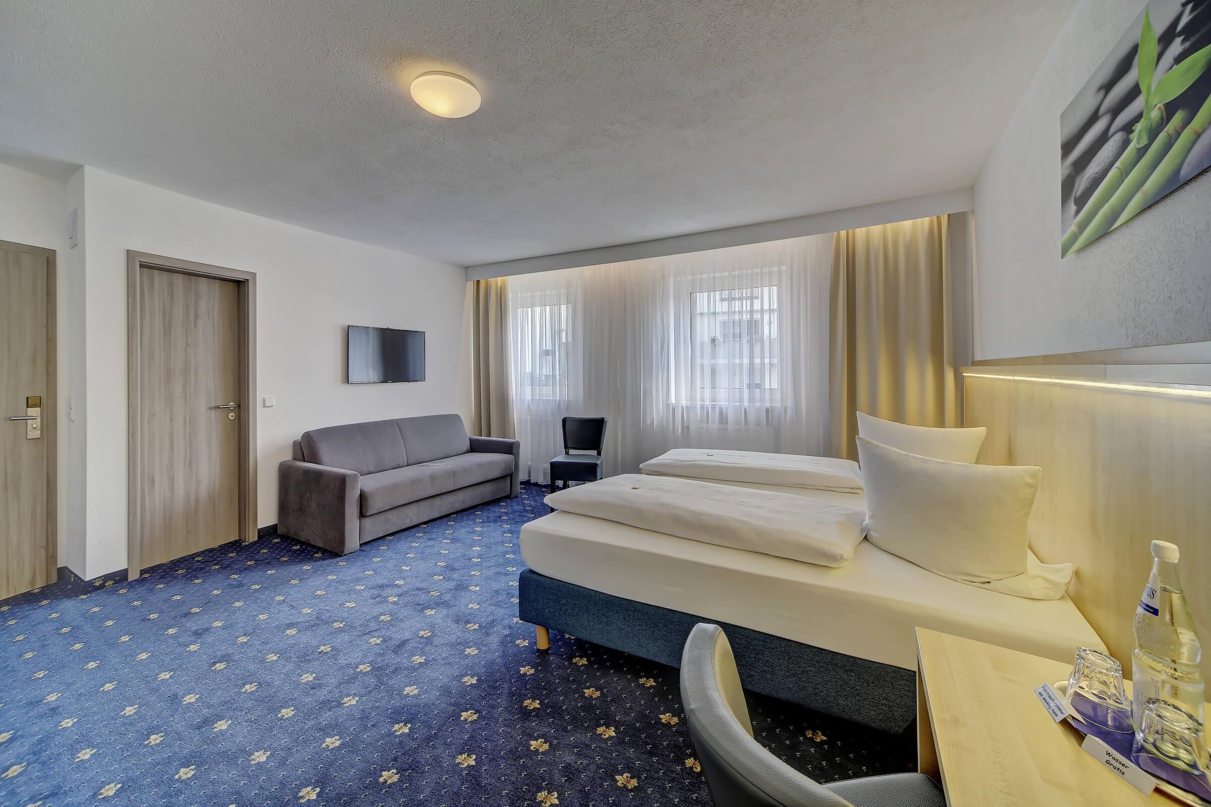 Hotel Post in Weiden Doppelzimmer Deluxe
