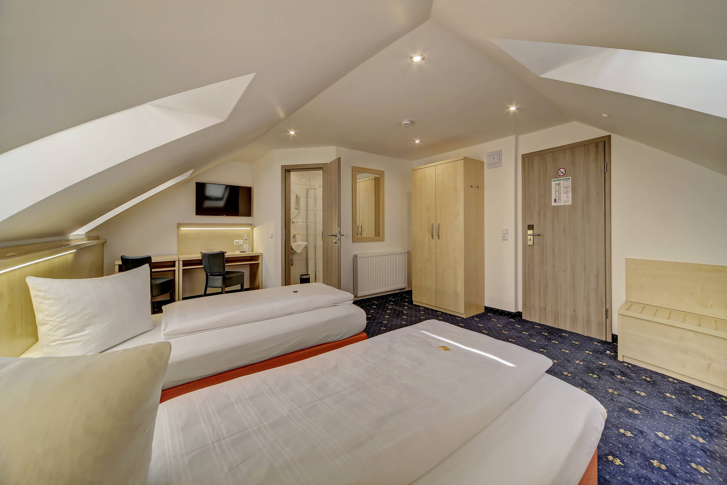 Hotel Post in Weiden Doppelzimmer Komfort