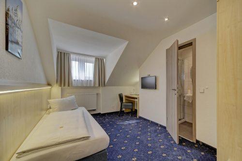 Hotel Post in Weiden Einzelzimmer Komfort