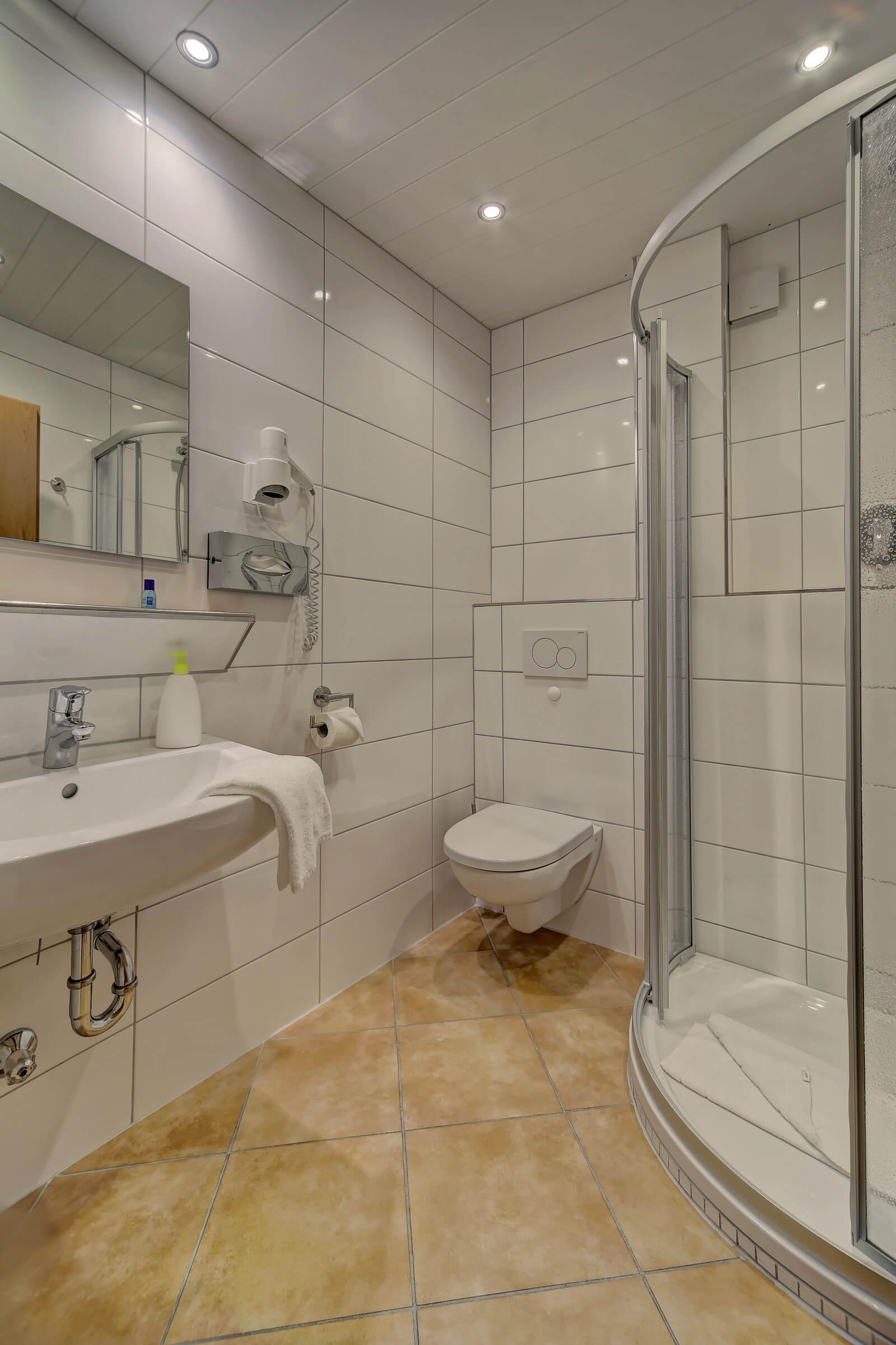 Hotel Post in Weiden Einzelzimmer Standard Bad