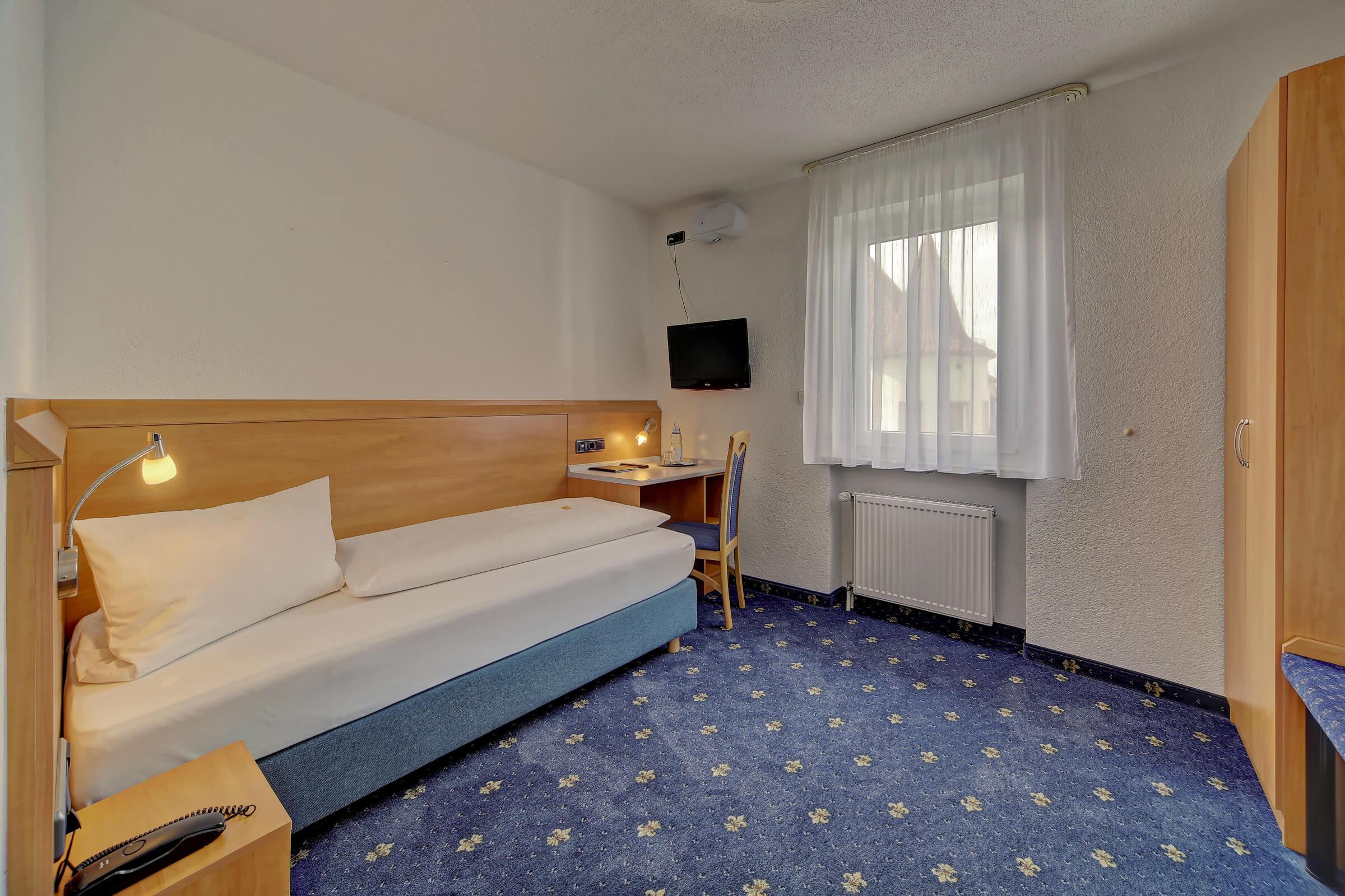 Hotel Post in Weiden Einzelzimmer Standard